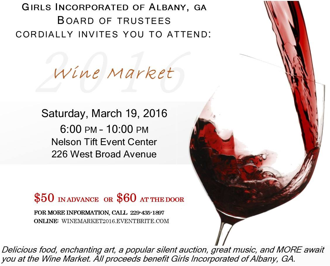 Girls Inc. Wine Market