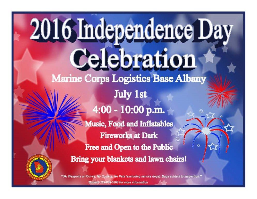 MCLB Albany Independance Day 2016