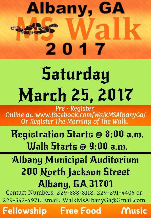 Albany MS Walk