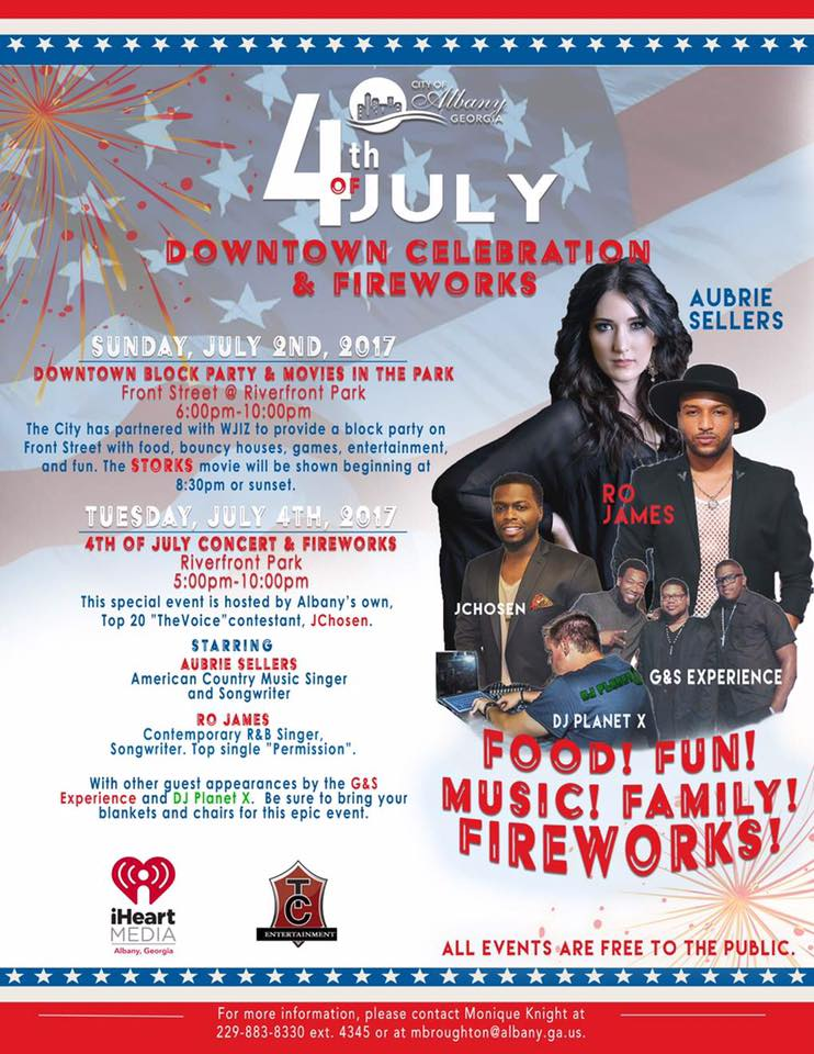 City of Albany 4th of July Downtown Celebration + Fireworks
