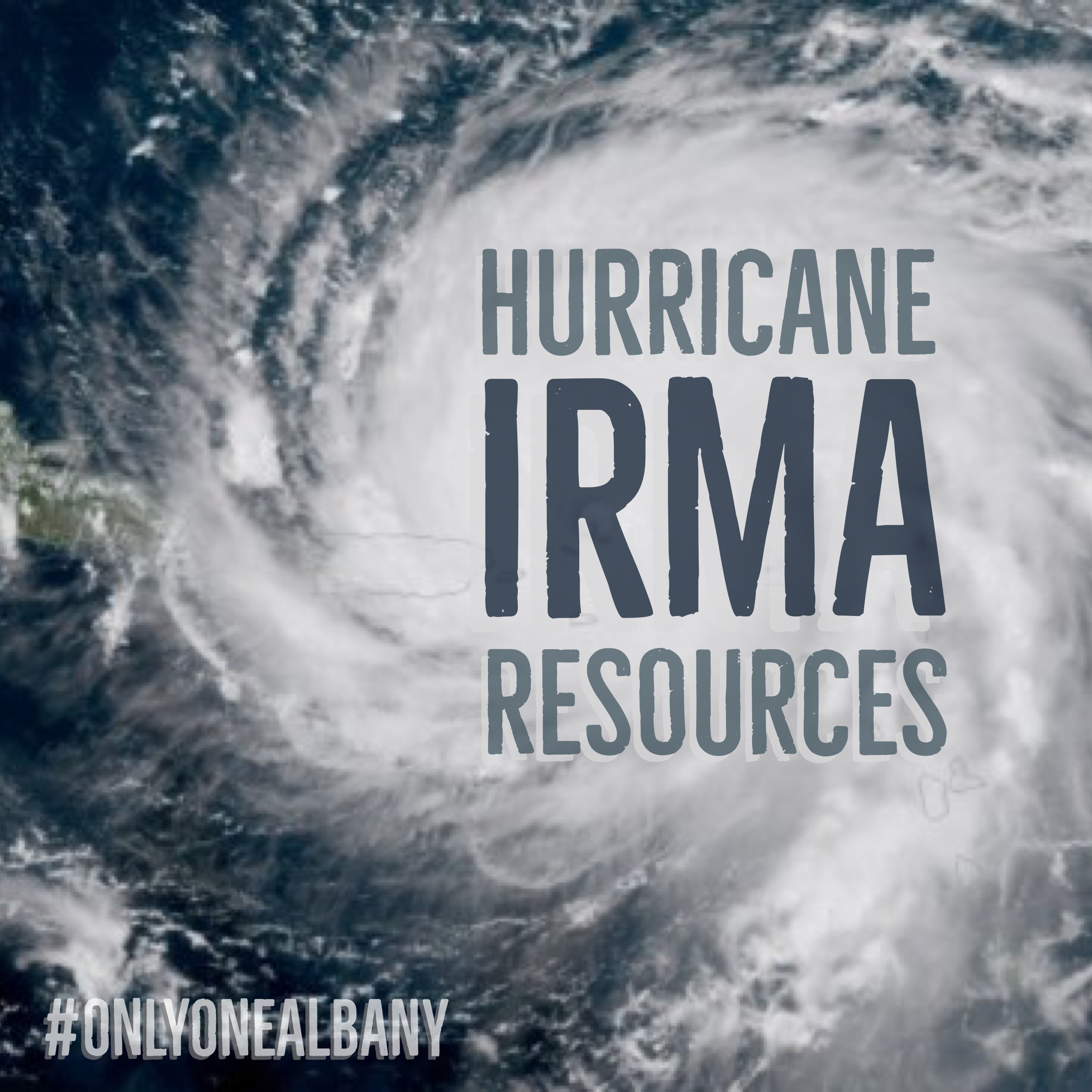 Hurricane Irma Resources - #OnlyOneAlbany
