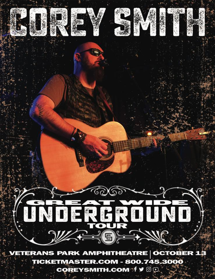 Corey Smith - Great Wide Underground Tour