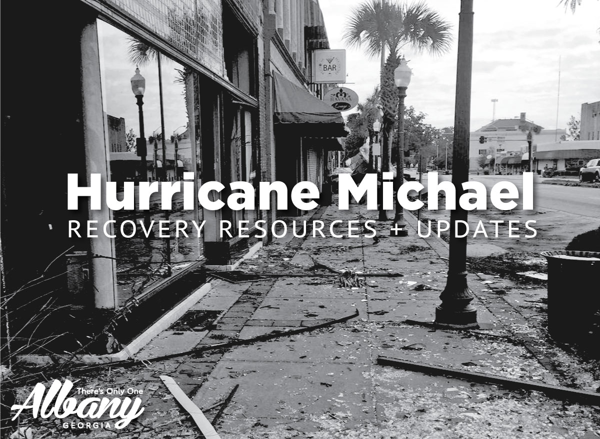 Hurricane Michael - Albany Recovery Resources + Updates